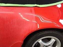 Porsche Fahrzeugpflege Lack