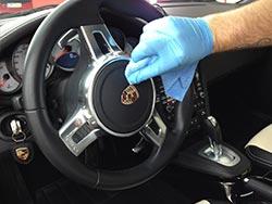 Porsche Fahrzeugpflege Innenraum 2