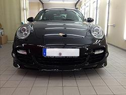 Porsche Fahrzeugpflege Front